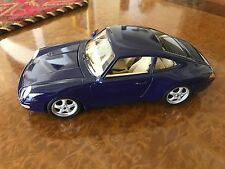 Standox | 1:18 Porsche 911 Carrera S | Lapis Lazuli w/ 24 KT Gold Flakes
