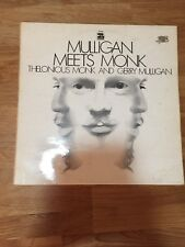 Thelonious Monk And Gerry Mulligan - Mulligan Meets Monk 1968 Vinyl LP
