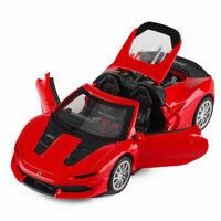 Ferrari J50 Sports Car 1/32 Scale Model Car Diecast Gift Toy Vehicle Kids Red