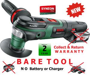 new - BARETOOL Bosch Advanced MULTI18-18V Multi-TOOL 0603104000 3165140843966