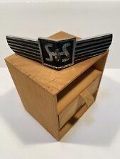 Rare Sayers Amp Scovill Hearse Ambulance Grille Emblem 1938 Cadillac Packard