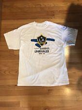 LA Galaxy Unrivaled Shirt Men's Size: X-Large SGA Sponsored Herbalife Nutrition