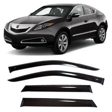 For Acura ZDX 2009-2013 Window Visors Side Sun Rain Guard Vent Deflectors