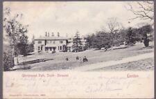 London SOUTH NORWOOD Grangewood Park used 1902 U/b PPC