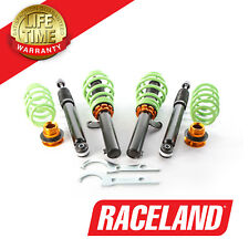 RACELAND ULTIMO COILOVERS SUSPENSION KIT VW GOLF MK5 1.4 1.6 1.9TDI 50mm