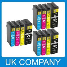 12 INK REPLACE FOR LEXMARK 100 XL S305 S405 S505 S605 PRO703 PRO705 PRO706