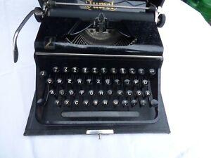 JUWEL Schreibmaschine antik im Koffer