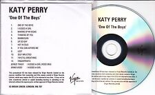KATY PERRY One Of The Boys 2008 UK 14-track promo test enhanced CD
