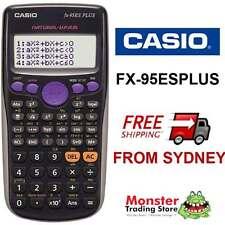 AUSSIE SELLER  CASIO SCIENTIFIC CALCULATOR FX-95 FX95 FX-95ESPLUS WARRANTY