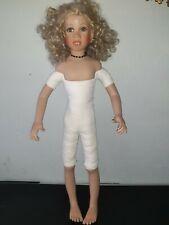 Ruby Doll  Porzellan Puppe 75 cm gross