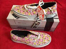 Vans x Nintendo Super Mario Princess Peach Edition Shoes UK Size 5.5 Box & Tags