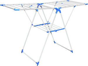 Clothes Airer Horse Winged Tier Foldable Airer  Indoor Laundry Dryer Rack 35 m