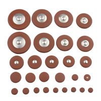 25 Pieces Sax Leather Pads Replacement for Alto Saxophone Saxophone Accessory