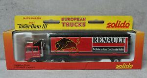 Toner Gam III Solido No 3502 Saviem Fourgon RENAULT European Trucks  VNM Boxed