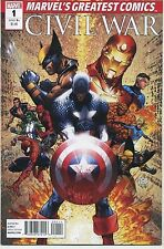 CIVIL WAR #1 MICHAEL TURNER $1.00 VARIANT IRON MAN CAPTAIN AMERICA Marvel VF/NM-