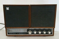 Mid Century Modern JCPenney FM AM Stereo Tabletop Stereophonic Console