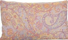 Pierre Frey Fabric Cushion Cover Paisley Woven Textile Lavender 20x11""