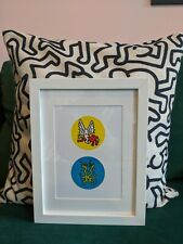 BN KEITH HARING Framed ICONS Untitled 1990 80s 90s Street Art Pop Modern