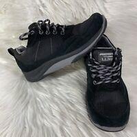 LL Bean Womens Size 6 Medium Tek 2.5 Waterproof Insulated Hiking Shoes Black