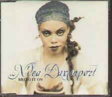 N'DEA DAVENPORT Bring It On CD UK V2 1998 6 Track Album Mix With Info Stickered