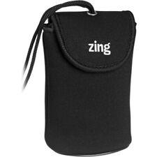 Zing Designs Camera Pouch, Medium (Black)*Authorized Zing Usa Dealer*