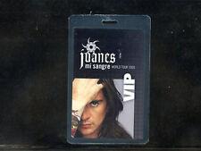 Juanes 2005 - Grammy Award Winner-V.I.P. Laminate pass-be in Philly w/Pope 9/26