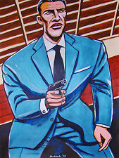 JAMES BOND 007 PRINT poster sean connery from russia with love movie walter ppk