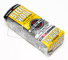 HOMAX 1 Bag (16 Pads)  #000 EXTRA FINE Steel Wool Pads