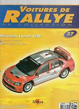 ALTAYA VOITURES DE RALLYE DE COLLECTION FASCICULE 27 MITSUBISHI LANCER WRC