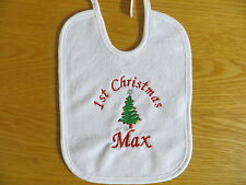 PERSONALISED CHRISTMAS - BABY BIB