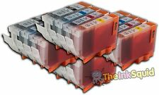 16 Canon PGI-5 CLI-8 Compatible Ink Cartridges PGI-5Bk