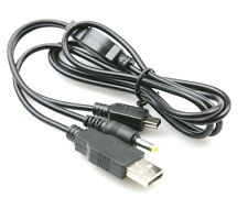 USB 2 IN 1 CHARGE & DATA TRANSFER CABLE LEAD FOR SONY PSP 1000 SLIM 2000 3000