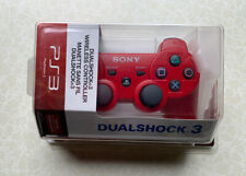 Sony Playstation 3 Dualshock 3 Sixaxis Red Controller PS3 Brand New & Sealed