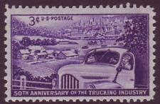 #1025 TRUCKING INDUSTRY. WHOLESALE LOT OF (200) MINT SINGLES. F-VF NH!