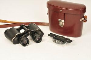 Carl Zeiss Jena 1Q Deltrintem 8x30 Porro Prism Binoculars with Case