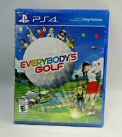Everybody's Golf (PlayStation 4, 2017)