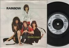 "RAINBOW Stone Cold  7"" Ps, B/W Rock Fever, Posp 421 (Ex-/Ex- Vinyl Has A Few Lig"