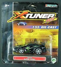 Kentoys XTuner RS Toyota Supra Turbo (Black) 1:55 Die-Cast