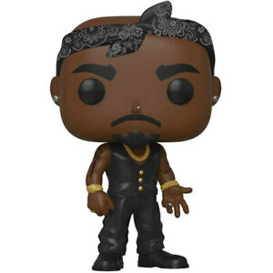 """Tupac Funko Pop! High Quality Collectible Vinyl Figure Toy Stands 3.75"""" Tall"""