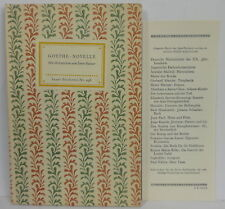 Insel- Bücherei Nr. 296 Novelle m. Beilage
