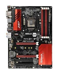 ASRock Fatal1ty Z97 Killer Intel Z97  Mainboard ATX Sockel 1150 Defekt   #302342