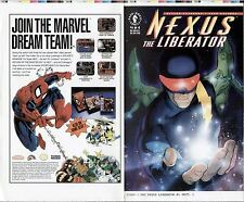 ADAM HUGHES NEXUS THE LIBERATOR #4 ORIGINAL COMIC COVER PROOF PRODUCTION ART