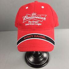 Nascar 9 Red Budweiser Beer Kasey Kahne Hat Cap Adjustable