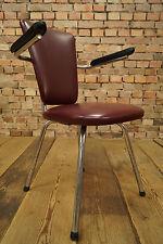 Vintage Armlehner Mid Century Progettazione Anni '60 Sedia Loft 60s Lounge