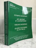 Catálogo De Venta Francis Briest Impresión Moderno 25 Abril 1990