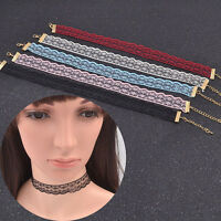 Newest Vintage Gothic Color Lolita Lace Choker Collar Necklace Jewelry Gift TR