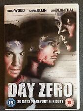 Elijah Wood, Chris Klein DAY ZERO ~ 2007 American Independent Drama UK DVD
