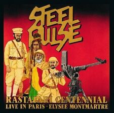 STEEL PULSE Rastafari Centennial Live In Paris Elysee Montmartre CD BRAND NEW