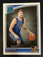 Luka Doncic Donruss Rated Rookie 2018-2019 No 177 Rookie Card Mint condition