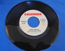 Troy Seals - Let's Go For A Ride - Mono & Stereo - Demonstration NFS -  45 rpm